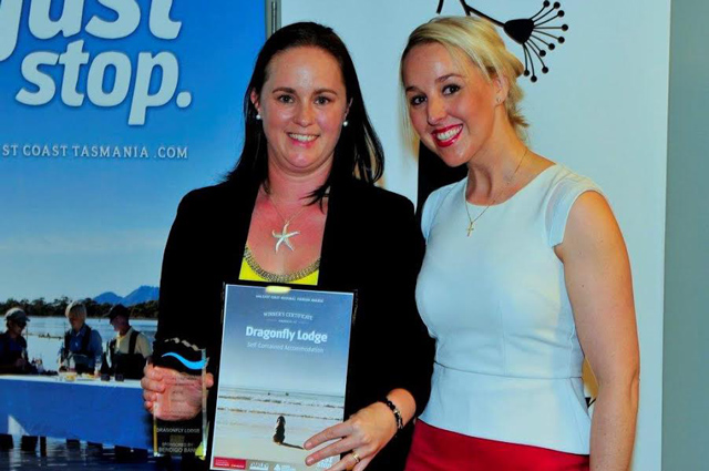Dragonfly Lodge Tourism Award 2015